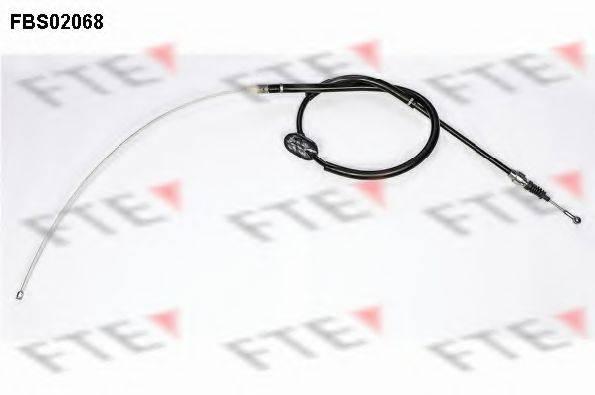 FTE FBS02068 Трос, стояночная тормозная система