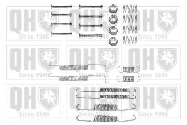QUINTON HAZELL BFK225 Комплектующие, тормозная колодка