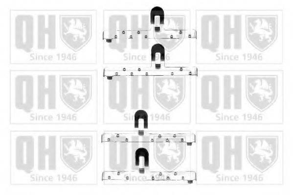 QUINTON HAZELL BFK820 Комплектующие, колодки дискового тормоза