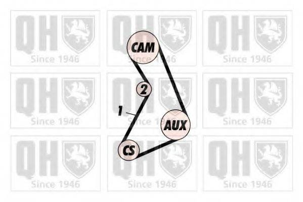 QUINTON HAZELL QTB113 Ремень ГРМ