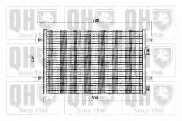 QUINTON HAZELL QCN47 Конденсатор кондиционера