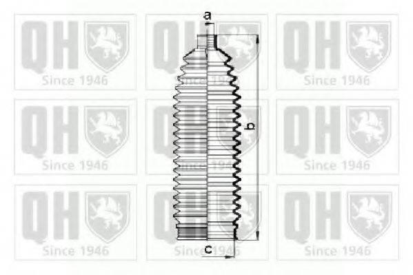 QUINTON HAZELL QG1443 Пыльник рулевой рейки