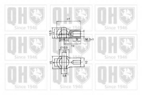 QUINTON HAZELL QTS128621 Амортизатор капота