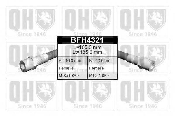 QUINTON HAZELL BFH4321 Тормозной шланг