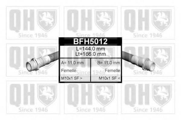 QUINTON HAZELL BFH5012 Тормозной шланг