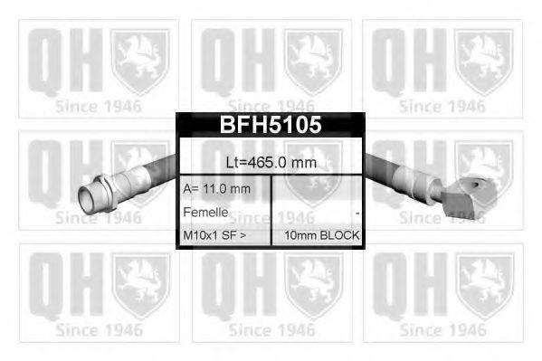 QUINTON HAZELL BFH5105 Тормозной шланг