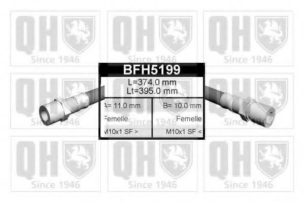 QUINTON HAZELL BFH5199 Тормозной шланг