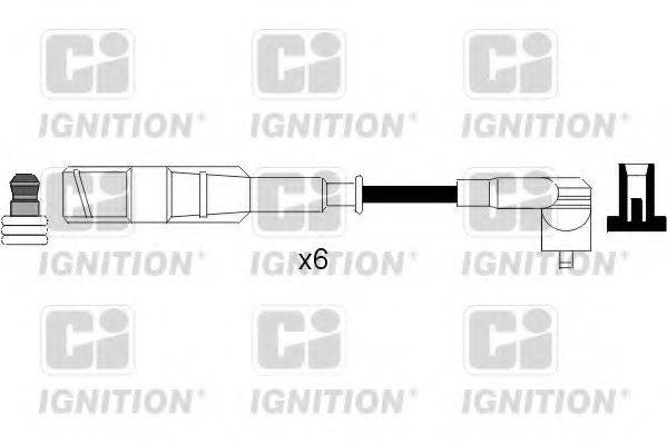 QUINTON HAZELL XC1088 Комплект проводов зажигания