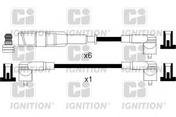 QUINTON HAZELL XC838 Комплект проводов зажигания