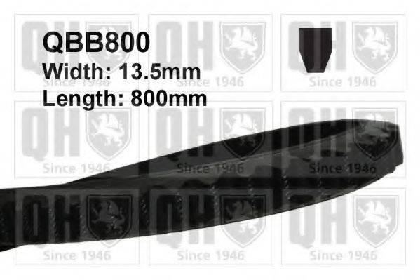QUINTON HAZELL QBB800 Клиновой ремень