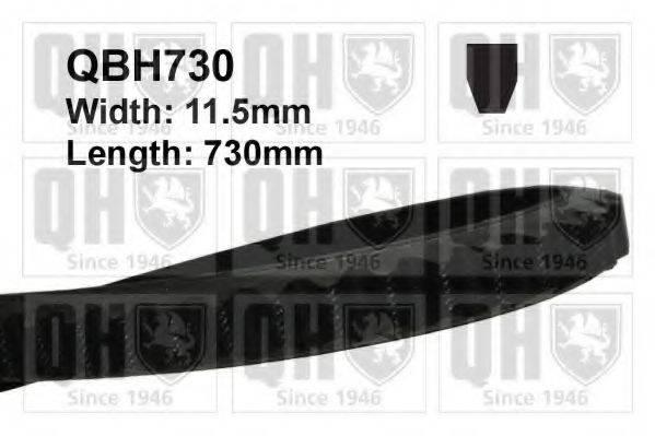QUINTON HAZELL QBH730 Клиновой ремень