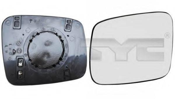TYC 33700881 Зеркальное стекло, наружное зеркало