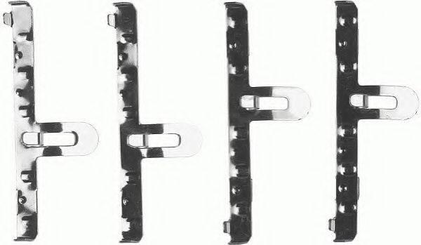 FERODO FBA458 Комплектующие, колодки дискового тормоза