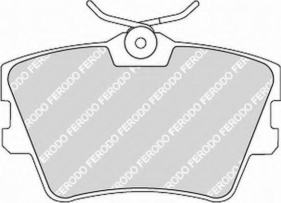 FERODO FVR1132 Тормозные колодки