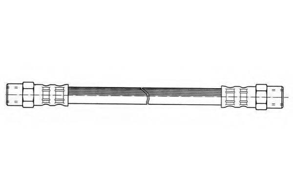 FERODO FHY2000 Тормозной шланг