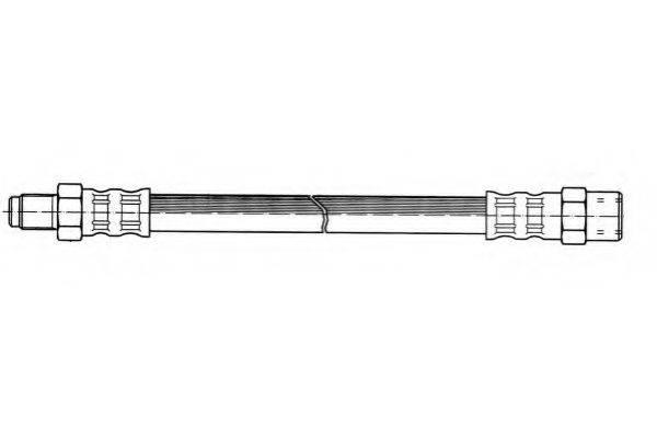 FERODO FHY2055 Тормозной шланг