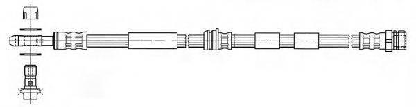 FERODO FHY2210 Тормозной шланг