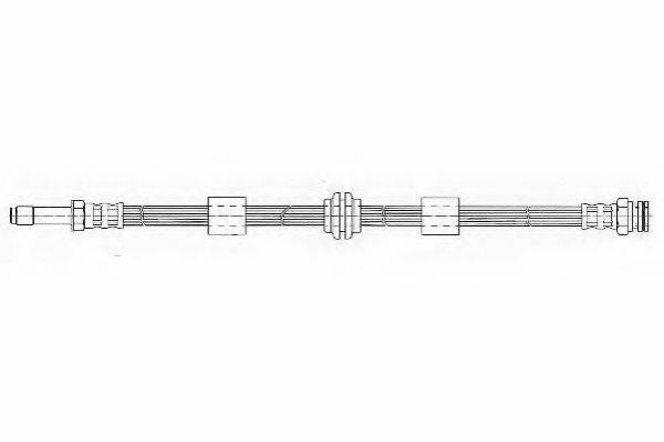 FERODO FHY2285 Тормозной шланг