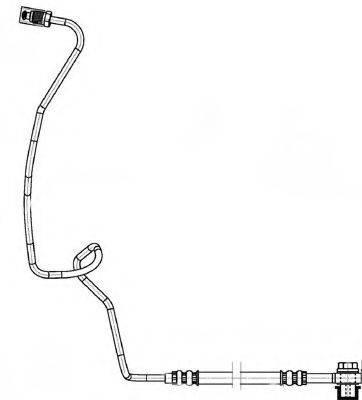 FERODO FHY2517 Тормозной шланг