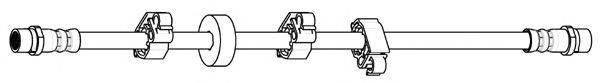 FERODO FHY2680 Тормозной шланг