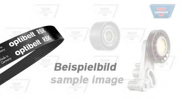 OPTIBELT 6DPK1195KT1 Поликлиновой ременный комплект