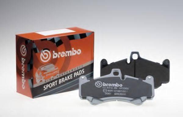 BREMBO 07B31453 Комплект высокоэффективных тормозных колодок