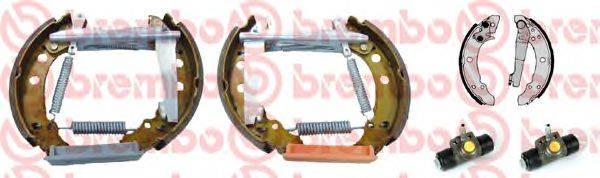 BREMBO K85010 Тормозные колодки барабанные