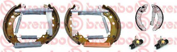 BREMBO K85011 Тормозные колодки барабанные