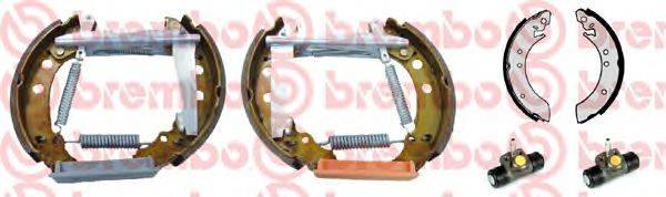 BREMBO K85013 Тормозные колодки барабанные