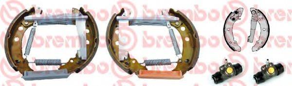 BREMBO K85018 Тормозные колодки барабанные
