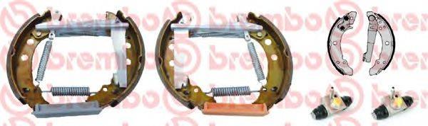 BREMBO K85048 Тормозные колодки барабанные