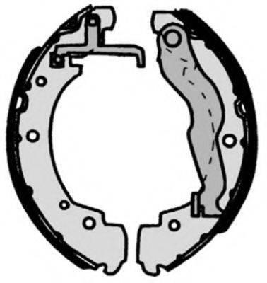 BREMBO S85515 Тормозные колодки барабанные