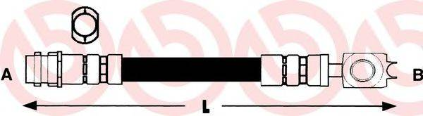 BREMBO T85028 Тормозной шланг