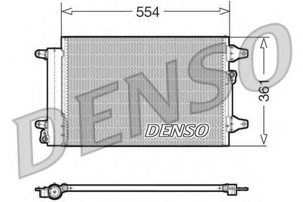 DENSO DCN32015 Конденсатор кондиционера