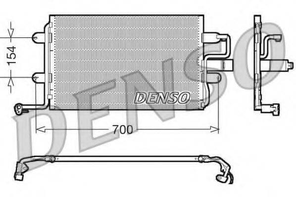 DENSO DCN32017 Конденсатор кондиционера