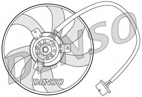 DENSO DER32003 Вентилятор системы охлаждения двигателя
