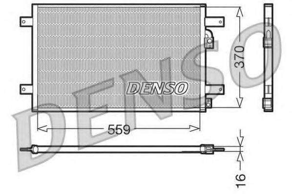 DENSO DCN32014 Конденсатор кондиционера