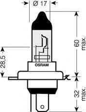 OSRAM 64193CBLHCB Лампа накаливания