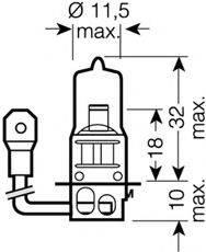 OSRAM 64151NBU Лампа накаливания
