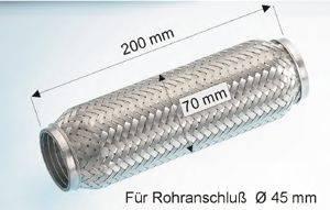 EBERSPACHER 9901079 Гофрированная труба, выхлопная система