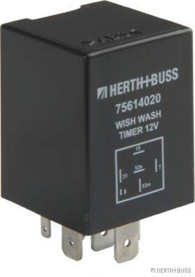 HERTH+BUSS ELPARTS 75614020 Реле, интервал включения стеклоочистителя; Реле, интервал включения стеклоочистителя