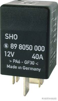 HERTH+BUSS ELPARTS 75898050 Реле, топливный насос
