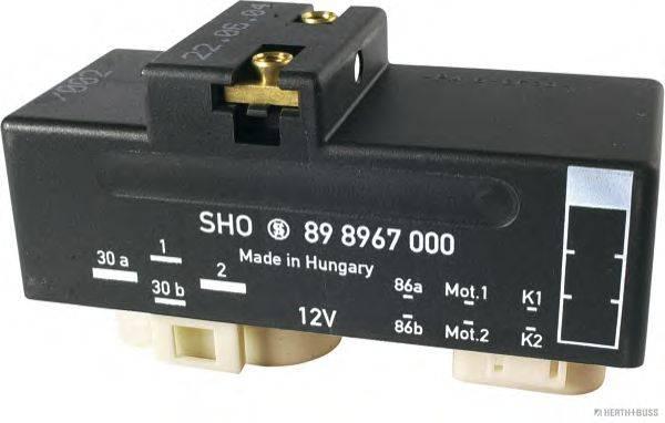 HERTH+BUSS ELPARTS 75898967 Реле, продольный наклон шкворня вентилятора