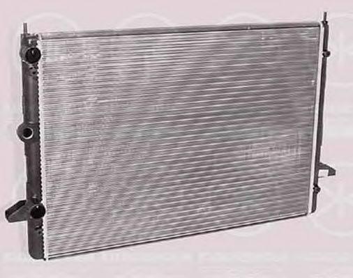 KLOKKERHOLM 2582302135 Радиатор охлаждения двигателя