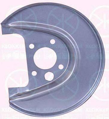 KLOKKERHOLM 9523878 Отражатель, диск тормозного механизма