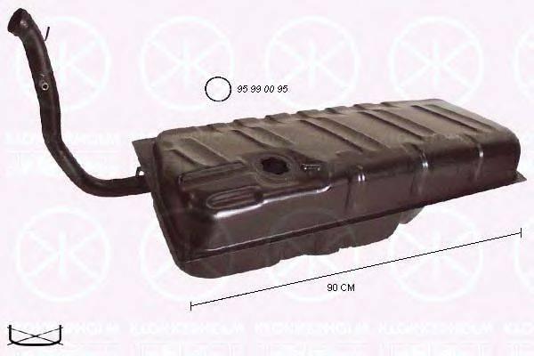 KLOKKERHOLM 9526009 Топливный бак