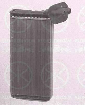 KLOKKERHOLM 9558306097 Радиатор печки