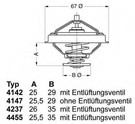 WAHLER 445580D Термостат