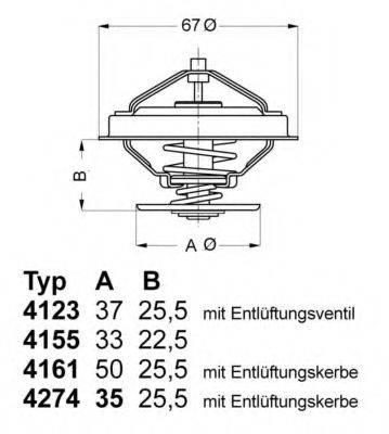WAHLER 412380D Термостат
