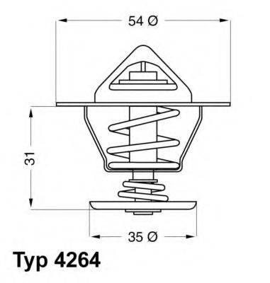 WAHLER 426487D Термостат